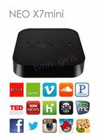 Wholesale MINIX NEO X7 Quad Core Android TV Box RK3188 Android GB DDR3 RAM GB ROM Mini PC MX XBMC Home Network Media Internet Rad