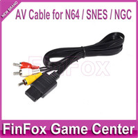 Wholesale OP a AV Cable for Nintendo N64 SNES NGC