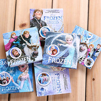 Wholesale Lovely MINI Frozen Note Book Cartoon Hard Cover Message Note Book Creative Paper Products SK127