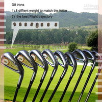 Wholesale new golf clubs Grenda D8 irons set China No brand golf irons pw sw