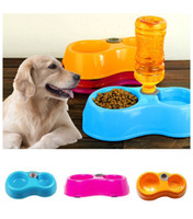Cheap 3x 2014 Fashion New Pets Dog Cat Automatic Water Feeder Drinking Bowl Dish Dispenser Free Shipping