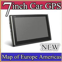 car gps - DHL Hot selling inch Car GPS Navigator MB GB With FM map RW GN04