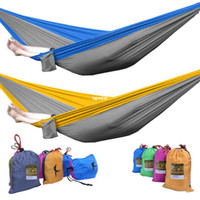 parachute fabric - Strong Ground Cloth Parachute Hammock Nylon Fabric Camping Travel Outdoor Rest G703