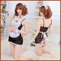 sexy lingerie for woman lace Dew buttocks maidservant cosplay uniform