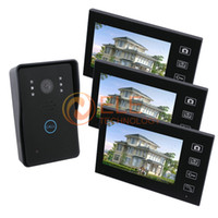 Wholesale 7 inch wireless intercom system camera with monitor video door phone system to