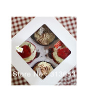 Wholesale 2013 new arrival Solid color cupcake box biscuit box cupcake packaging paper bag for biscuits food packaging