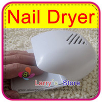 Wholesale OP Portable Nail Art Acrylic Polish Dryer Blower Paint Battery Operated Mini Fan Touch Sensitive Manicure Stoving Hand Toe Finger