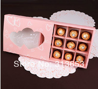 macaron boxes - new arrival hole Macaron box chocolate box mooncake box for wedding supplies