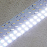 Wholesale Hard LED Strip SMD Cool Warm White Rigid Bar LEDs LED Light non waterproof DC V high bright led strip