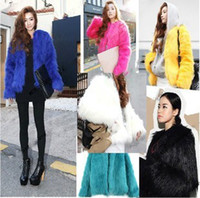 Cheap fashion 2014 new women3128 # 2014 new stylenanda official website of the same paragraph color imitation fox fur coat