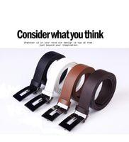 Belts Standard Standard free shipping women dress strap belt brand classic G Shape fashion trousers jeans genuine PU leather men's belts men slender straps