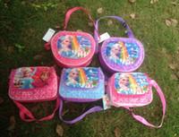 Wholesale Fashion Hot Frozen school bags for girls Anna Elsa Olaf Prince bags for kids children school bag PU frozen bags