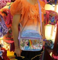 Wholesale New Arrive Frozen school bags for girls Anna Elsa Olaf Prince bags for kids children school bag PU frozen bags