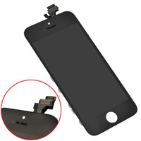 Cheap LCD Digitizer Touch Screen Display Replacement Glass Assembly for iPhone 5 Black