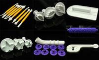 Wholesale Plastic Fondant Tools DIY Cake Decoration Baking Tools hg t7
