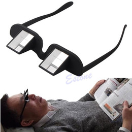 Wholesale Creative Lazy Periscope Horizontal Reading Glasses Sit View Prism Spectacles