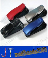 car sunglasses clip - Discount Price Car Glasses Sunglasses Holder Visor Clip Auto Car Visor Clip MYY2270A