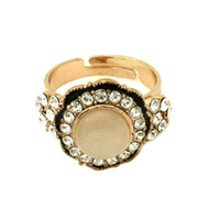 Cheap Three Stone Rings Rose Gold Best Mexican Unisex elegant wedding