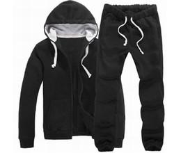 Wholesale 2014 Brand New Mens Tracksuits Hoodie Moleton Polo Men s Zipper Cardigan Sport Suits Fashion Coats Jacket Set Pants Sportswear Brand Male