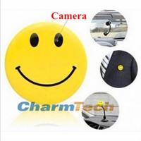 Cheap Hot Sale Smile Face MP3 Player with Clip + Mini DV Hidden Car DVR Spy Camera Digital Video Recorder Hidden HD Pin Pinhole Camera flip