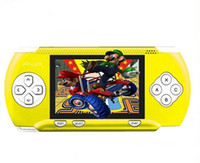 Wholesale New Inch PVP Crash Handheld Game Console With Free Game Card and Joystick BIT Seven Colors