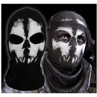Wholesale Call of Duty Ghosts Logan Last Mission Balaclava Skiing Skull Mask Hood