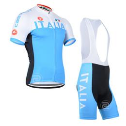 Promotion cuissard vente ITALIA 2014 manches courtes cyclisme maillot pro team été mode chaud vente ropa ciclismo vélo vêtements mtb vélo wear