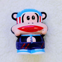 Cheap Wholesale-10pcs NO.78 Cute Monkey 4000mAh Portable Power Bank DC5V With USB Cable for Cell Phones Mp3 Ipod Iphone GPS MID Free Shipping