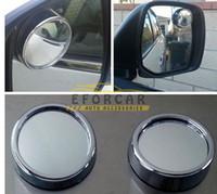 Wholesale 10x Pairs Adjustable Blind Car Suv Truck Blind Spott Mirrors Towing Blindspot Reversing Mirror Black