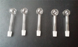 Wholesale Grind arenaceous transparent small shape glass pipes grate A best quality and cheap price