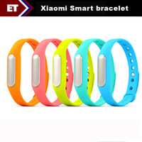 Wholesale 2014 New Original Xiaomi Smart bracelet Sleep Monitoring Day Standby Support Smart Meter Step Bluetooth Connection