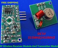 arduino rf transmitter receiver - RF Wireless Radio Receiver Module Transmitter Module Remote Board For Arduino Super Regeneration MHZ MHZ