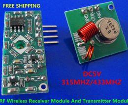 Wholesale RF Wireless Radio Receiver Module Transmitter Module Remote Board For Arduino Super Regeneration MHZ MHZ