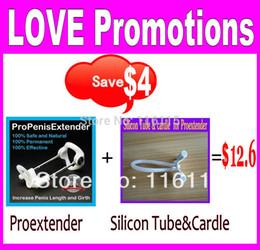 Wholesale Proextender set platic tube cradle Cock enlargement device male penis proextender man pro extender enlarger sex toys for men