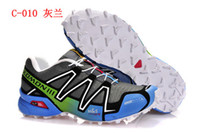 Wholesale New salomon women athletic shoes running shoes woman sports solomon size withno box