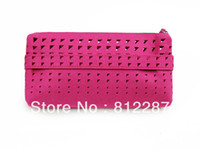 Cheap 1pcs Felt Case Coin Pouch Storage Organizer Cosmetic Mini Bag With Zipper-Pink+ Storage Bags