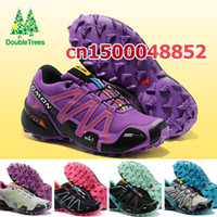 Wholesale NEW Arrival Salomon Sport Shoes Running athletic shoes for men women brand big Size hot selling