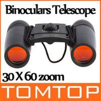 Wholesale 30X60 Zoom Mini Binoculars Telescope Folding Night Vision m m with Retail Box H8784 Drop