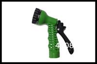 Cheap Wholesale-OP-Free Drop Shipping Spray Nozzles Spray Gun for Pocket Expandable Garden Hose, EU or US Standard