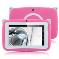 Wholesale 4 inch Kids Tab RK Android Tablet PC WiFi USB G Dongle for Children Pink
