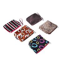 Cheap Wholesale-OP-Cosmetic Handbag Makeup Bag Pouch Women's Bag Travel Bag Storage Bags Change Coin Wallet Purse Pencil Case