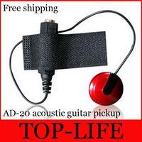 Wholesale AD20 ukulele Pickup External Professional Acoustic Guitar Pickup FOR Ukulele Or Guitar Circumscribing Pick up Adjustable Rev