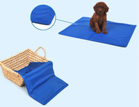 Wholesale 7939 Pet dog ice pad Strong resistance to bite no leakage Gel cat ice pad Cooling pad