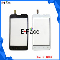 Cheap wholesale V14207 50pcs lot for LG Series III D280 touch screen digitizer touch panel free shipping