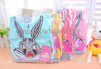 hoodies wholesale - Newest Fashion Grils Clothing Set Velvet Hoodies With Animal Pattern And Trousers Fashion Clothes CS40805