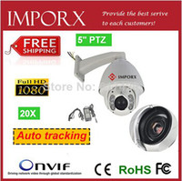 Wholesale Outdoor PTZ IR Speed Dome IP Camera Auto tracking IP Camera megapixel Zoom camera X zoom network camera