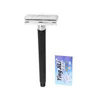 double edge razor blades - Classic Manual Shaver Safety Shaving Sharp Double Edge Blade Razor for Men H10816