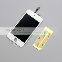 Wholesale High Quality Replacement LCD Touch Screen Glass Assembly adhesive Tape For iPod Touch