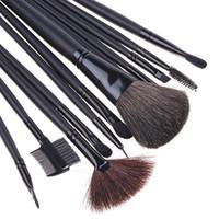 Wholesale Makeup Cosmetic Make up Brush Brushes Set Case Bag H4452