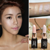 Cheap 3 Concept Eyes Korean Shimmer Stick Face Slimm Brand 3CE Stylenanda Face Neck Makeup Highlighter Shimmers Concealer Stick Lipstick 60pcs lot